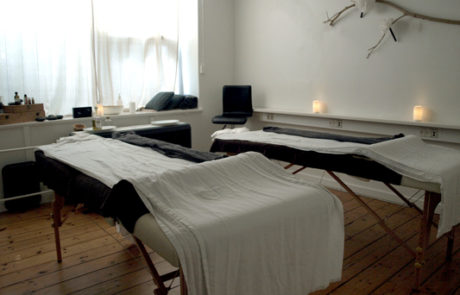 Par-massage rum i WellnessKompagniet